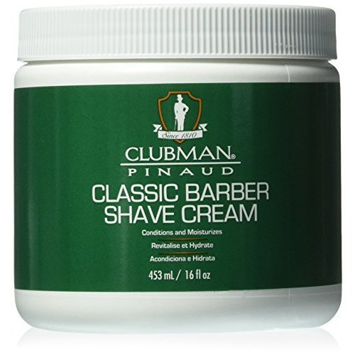 Clubman Classic Barber Shave Cream, 16 Ounce