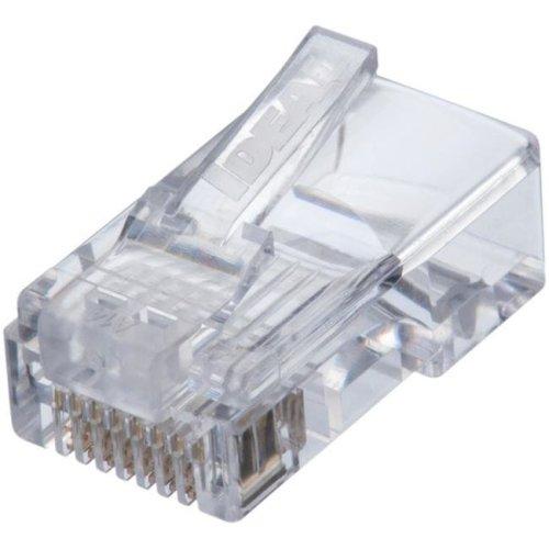 Cat 5E Feed & Thru Modular Plug - Pack of 50