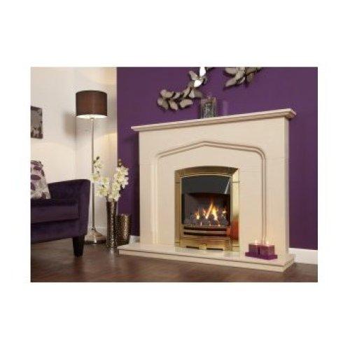 Designer Fire - Flavel FKPCDBMN Gold Decadence Plus Gas Fire - MC