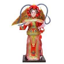 Traditional Chinese Doll Peking Opera Performer - Yang Ji Ye