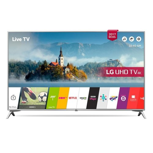 LG 49UJ651V 49 Inch SMART 4K Ultra HD HDR LED TV Freeview Play USB Record