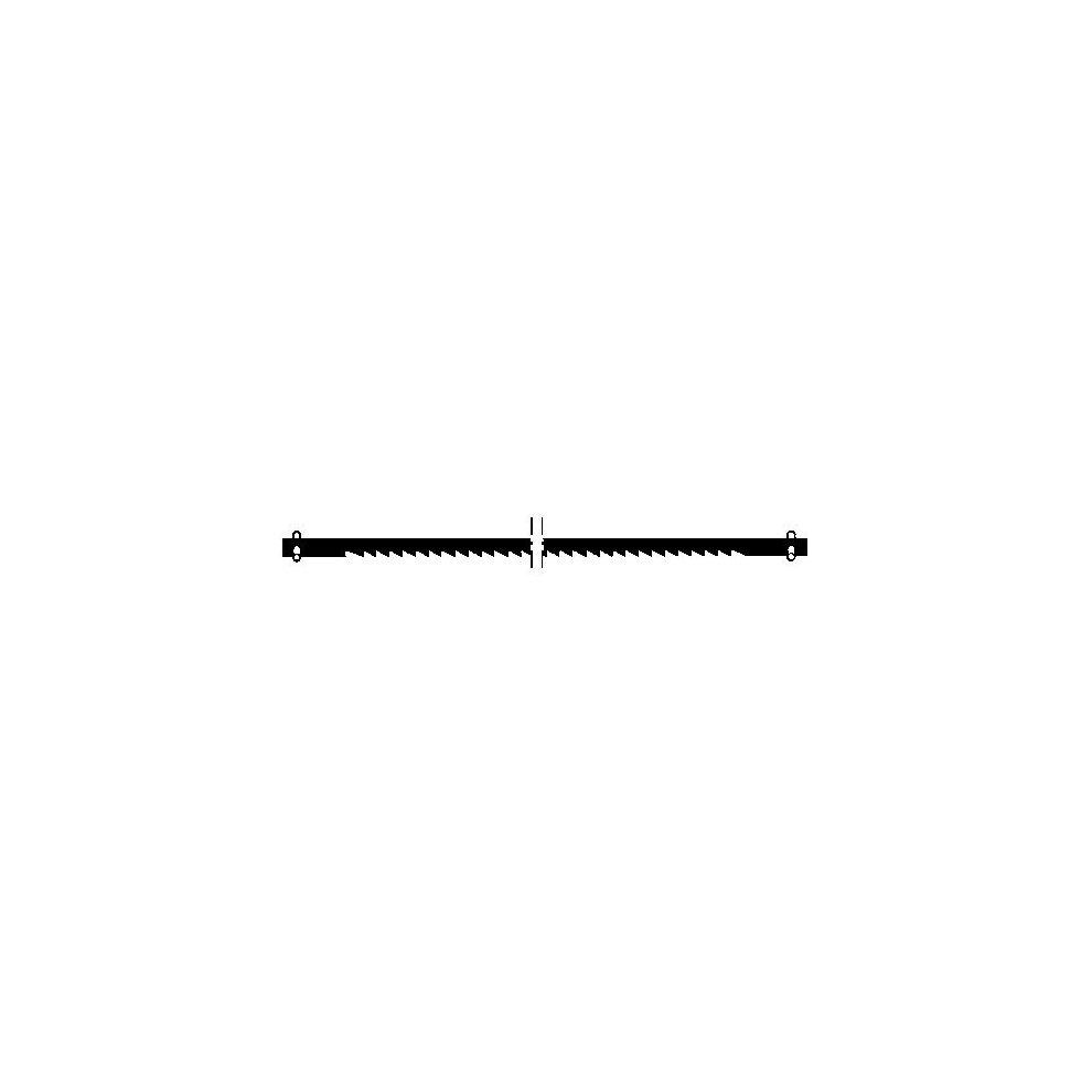 Proxxon 12pc Standard scroll saw blades with pins 28745 wood working RDGTools