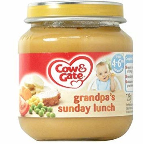 Cow & Gate Grandpa's Sunday Lunch (6 x 125g)