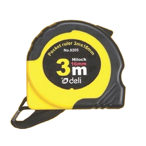 Tape Measure with Magnetic End Hook,Metric Inch Dual System,3m/9.8 Ft