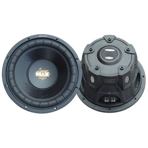 SOUND AROUND/LANZAR AUDIO MAXP104D 10   1200 Watt Dual Voice Coil Subwoofer Driver for Small Enclosures