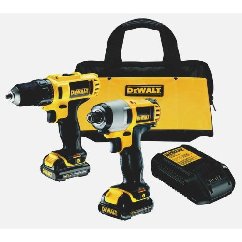 DeWALT DCK211C2-GB 10.8V Combo Kit With Drill & Impact Driver
