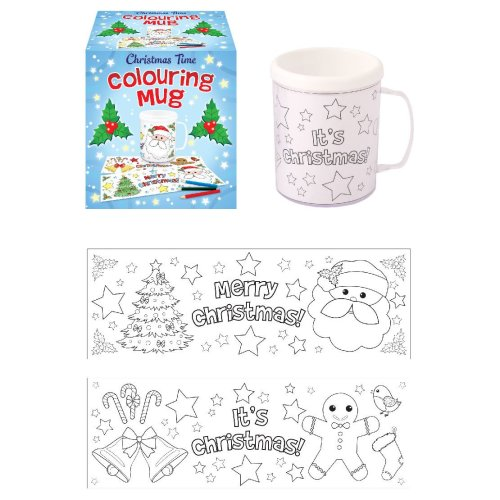 Christmas Colouring Mug