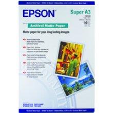 Epson Archival Matte Paper, DIN A3+, 192g/m², 50 Sheets