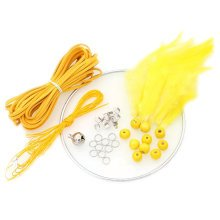 DIY Dream Catcher Craft Kit Meaningful Christmas Gifts by Hand - Yellow