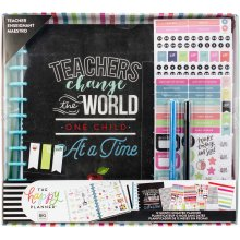 Happy Memory Keeping 12-Month Dated Planner Box Kit-Teachers Change The World