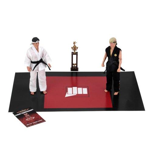 "NECA Karate Kid (1984) 8"" Clothed Figure Tournament 2-Pack"