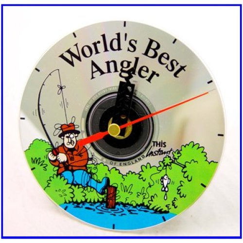 Cd Clock World's Best Angler
