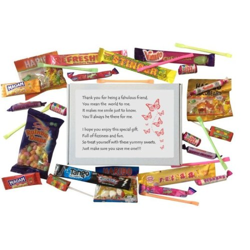 Best Friend Sweet Box - A great BFF gift for Birthday, Christmas or just because ...