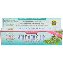 Auromere Non-Foaming Herbal Toothpaste, 4.16 Ounce