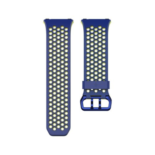 Fitbit Unisex Ionic Sport Band, Blue, Large
