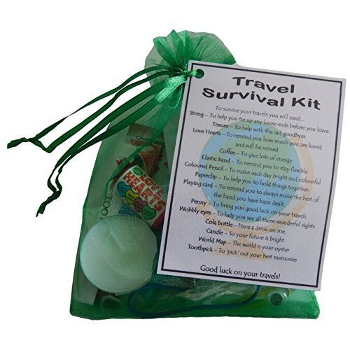 Travel Survival Kit | Novelty Good Luck Gift For Travelling
