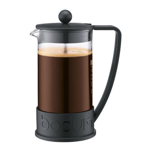 Bodum Brazil 8 Cup 1.0L Coffee Press Cafetiere Black