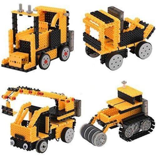 AZ Import PSR73 Remote Control Construction Vehicle Building Kit