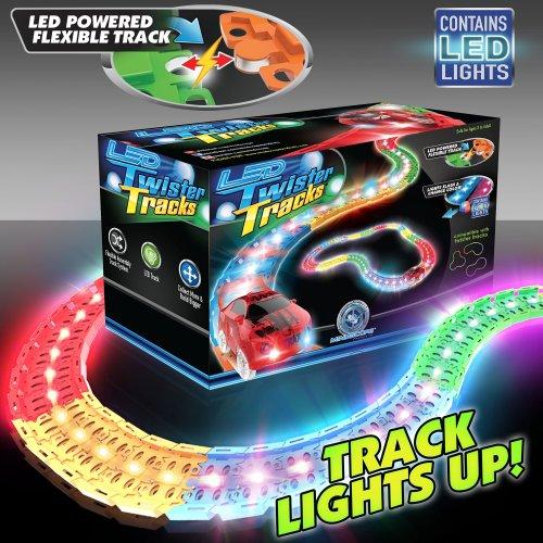Mindscope LED Laser Twister Tracks 12 Feet