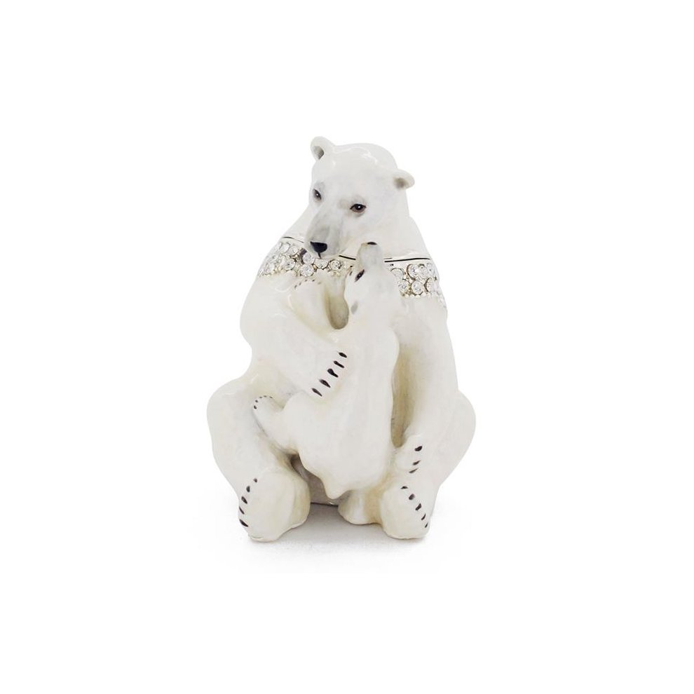 Fantasyard Mom amp Baby Polar Bear Trinket Box with Swarovski Crystal  Silver  1625 x 25 in - 3c4c56687ffbe7c , Fantasyard-Mom-amp-Baby-Polar-Bear-Trinket-Box-with-Swarovski-Crystal-Silver-1625-x-25-in-13495718 , Fantasyard Mom amp Baby Polar Bear Trinket Box with Swarovski Crystal  Silver  1625 x 25 in , Array , 13495718 , Jewellery & Watches , O