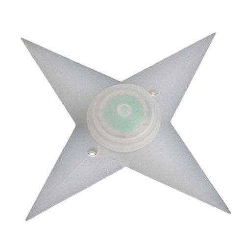 FLASHING SPOKE STAR GREEN