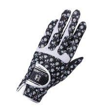 1 Pair Of Female Golf Gloves Non-slip Resistant Dirt Gloves-Navy