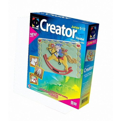 Elf707018 - Fantazer - Creator Plastercast Riding Dwarf