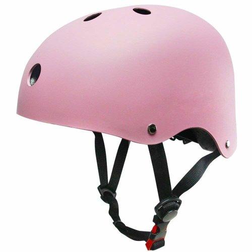 SKL Kids Scooter Helmet Skateboard Helmet for Toddler (V2.0 Pink, 45-51cm)