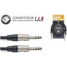 Stagg Nac Balanced Stereo Jack Cable (6m/20ft) - Nac6psr