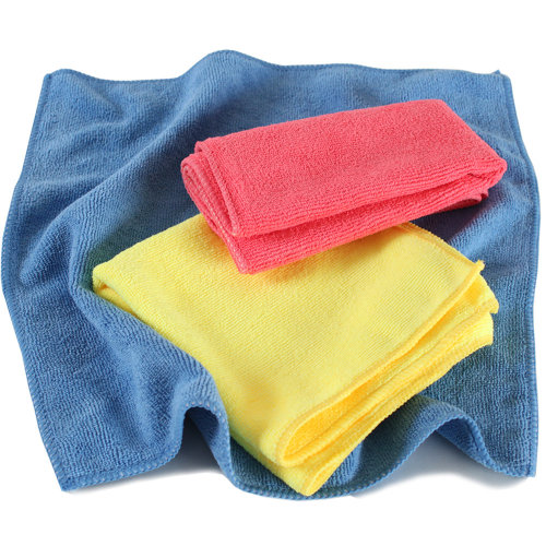 6 microfibre cloths - colorful