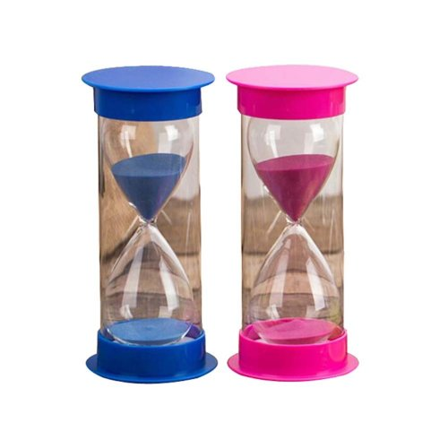 Interesting Creative Hourglass 5 Minutes Sand Glass Toys Kitchen Timer,D4