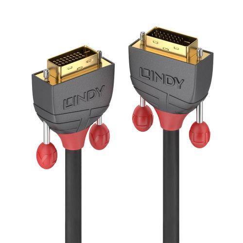 Lindy 36225 DVI cable 7.5 m DVI-D Black
