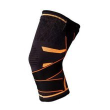 Sports Kneepad Running Non-slip Knee Brace Pressurized Knee Brace, Orange