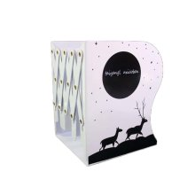 Creative Student Bookshelf Scalable Book Stands Book Clips_L9