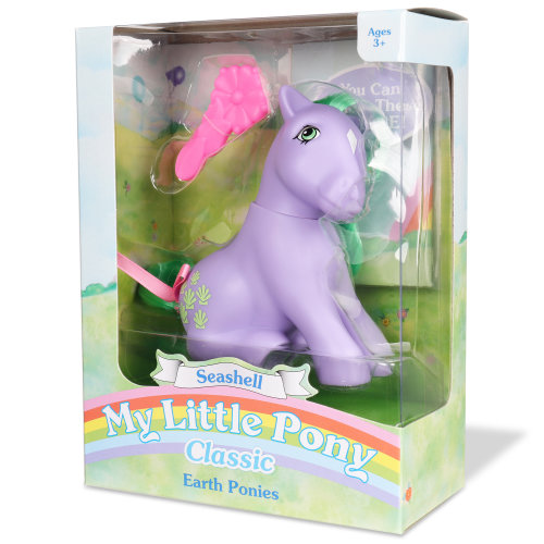 My Little Pony Classic Wave 3 Earth Ponies - Seashell