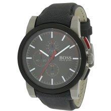 Hugo Boss Leather Mens Watch 1512979
