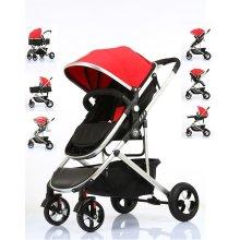 Pram Travel System 3 in 1 Combi Stroller Buggy Baby Child Pushchair