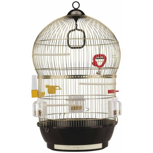 Ferplast Birdcage Bali 40x65 cm Budgie Canary Bird Cage House Stand 51018802