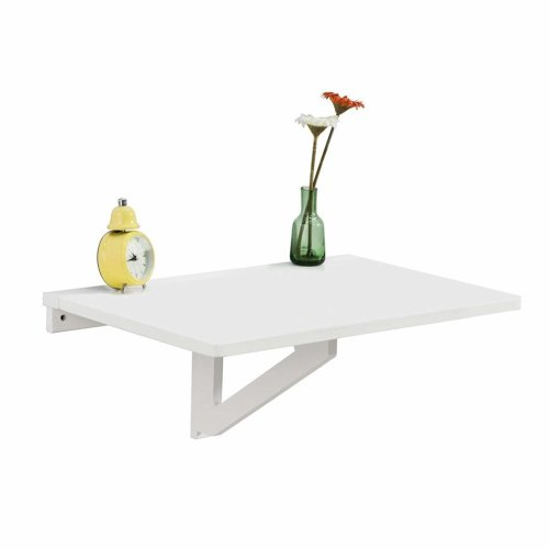SoBuy FWT03-W Wall-Mounted Drop-Leaf Table - 60x40cm