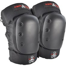 Triple 8 KP 22 Knee Pads (Black, Junior)