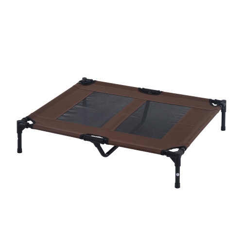 PawHut Large Pet Cot Portable Dog Cat Sleep Bed Elevated Camping Indoor/Outdoor