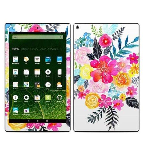 DecalGirl AKHD10-PNKBOUQUET Amazon Kindle Fire HD10 2015 Skin - Pink Bouquet