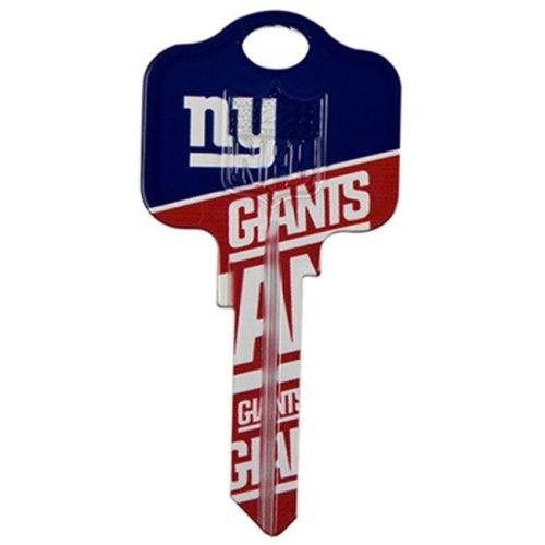 Kaba KCKW1-NFL-GIANTS NFL Giant Team Key Blank, Pack of 5