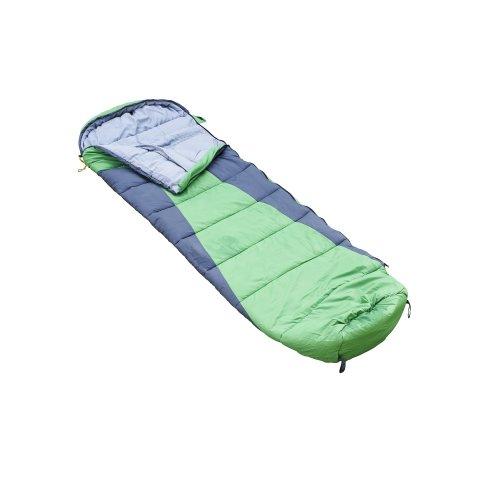 Regatta 2-3 Season Hilo 250 Single Mummy Sleeping Bag - Green
