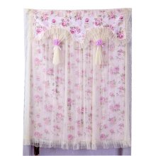 90x120 cm Beautiful  Flower Pattern Elegance Lace Door Curtain