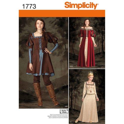 Misses' Costume-14-16-18-20-22