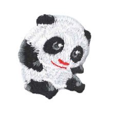 2 Pcs-Animal Patches Applique Patches Embroidery Applique Iron Appliques-Panda