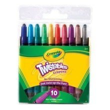 Crayola Crayons Washable Twistables-(6-Pack)