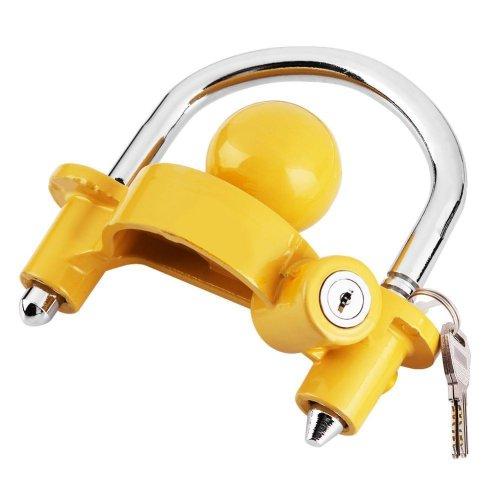 Heavy Duty Universal Trailer Hitch Lock Security Steel Trailer Lock