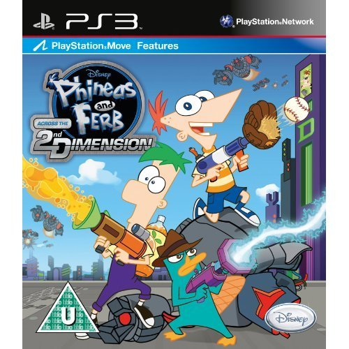 Phineas and Ferb Across the 2nd Dimension (PS3)